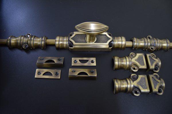 Cremone Bolt Antique Brass