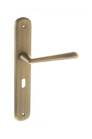 Forme Solid Brass Lock Lever