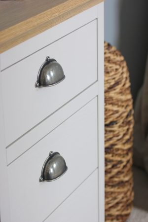 Finesse Pewter Cabinet Handles & Knobs