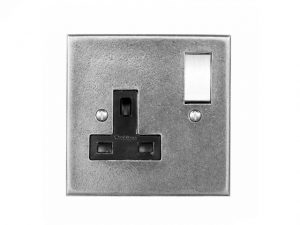 Finesse Pewter Electrical Switches and Sockets